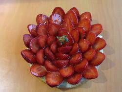 Tarte aux fraises - Voir en grand