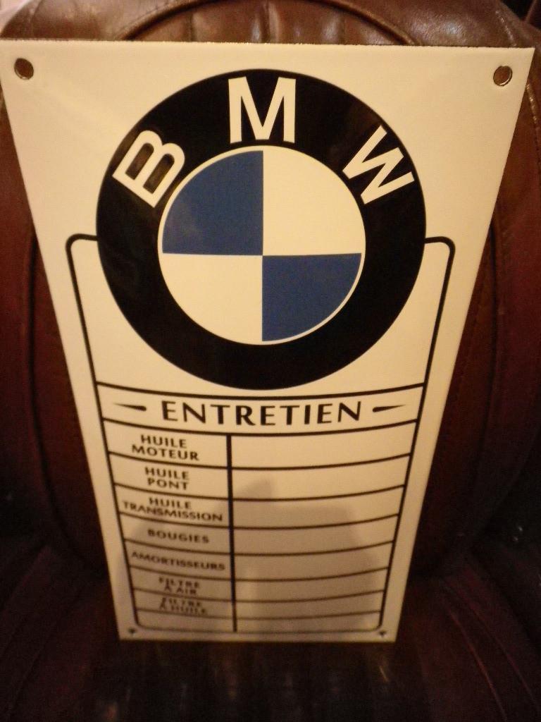 plaque email automobile moto bmw entretien antan et n o brive antan et neo. Black Bedroom Furniture Sets. Home Design Ideas