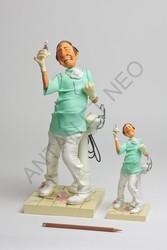 Figurine FORCHINO LE DENTISTE Petit modèle - FIGURINE ART COMIQUE FORCHINO PARASTONE - ANTAN ET NEO - Voir en grand