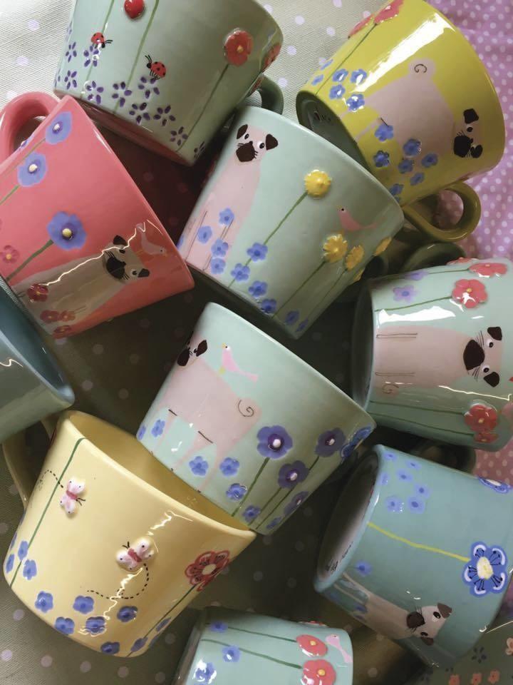 Louise LOVELACE Ceramics - NOS PLUS - MARINE Institut SPA - Voir en grand