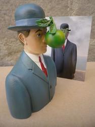 Magritte Le fils de l\'homme - MAG01 - Antan et Néo (3).JPG - Voir en grand