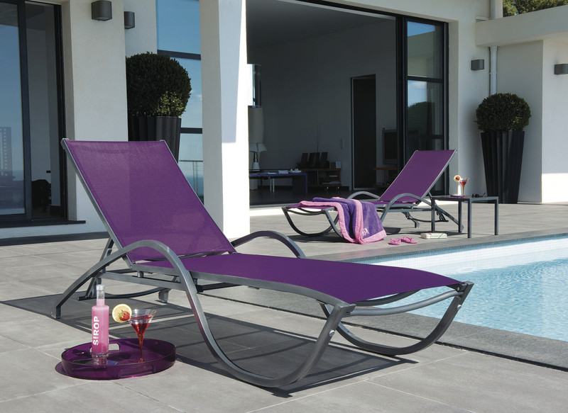 Bain de soleil Neptune - Mobilier de jardin - BROCH HABITAT - Voir en grand