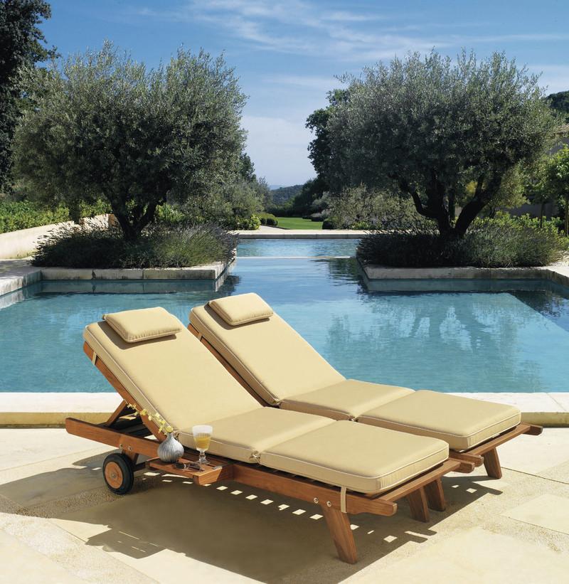 Bain de soleil Biarritz - Mobilier de jardin - BROCH HABITAT - Voir en grand
