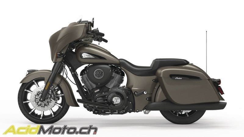 IDIAN CHIEFTAIN ANGEL'S MOTOS DIJON CHENOVE - Voir en grand