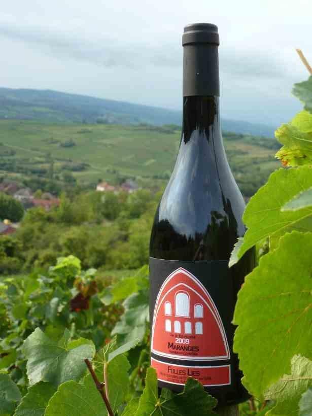 Maranges  - Vins de Bourgogne Rouges - Maison En Belles Lies - Voir en grand