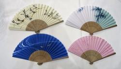 Éventail japonais en tissu - Comptoir du Japon