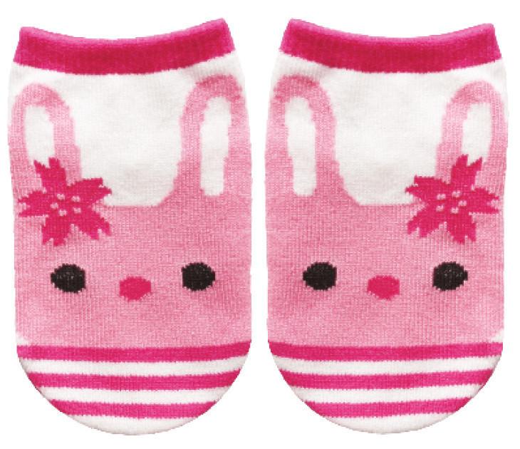 Chaussettes bébé lapin - Voir en grand