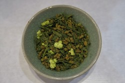 Thé des vertes rizières (macha iri genmaïcha) - Comptoir du Japon