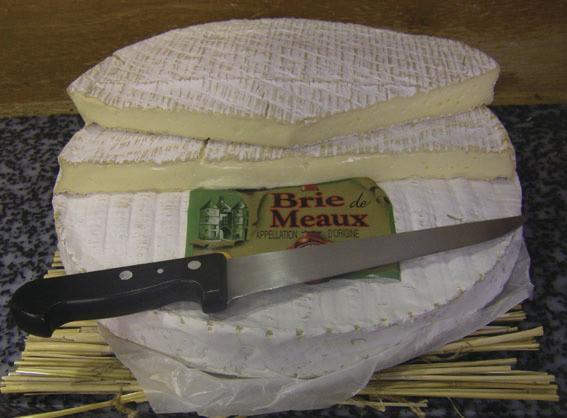 Au Gas Normand Brie de Meaux - Voir en grand