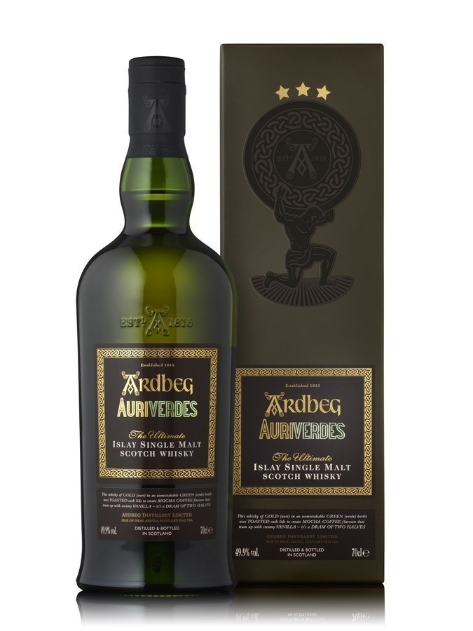 Ardbeg Auriverdes Whiskies & Spirits - Voir en grand