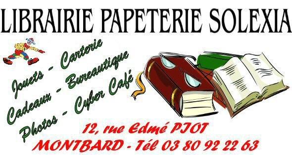 SOLEXIA - Librairies, jouets - UCAM : Union Commerciale de Montbard - Voir en grand