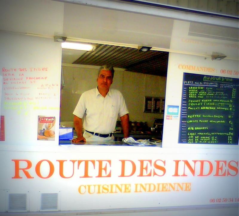 Route des Indes sur le marché de Montbard - Plats cuisinés / Condiments / Cuisine du monde - HALLES DE MONTBARD, votre marché alimentaire de proximité - Voir en grand
