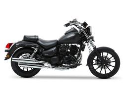 DAELIM 125 DAYSTAR (noire mate) ANGEL'S MOTOS DIJON CHENOVE - Voir en grand