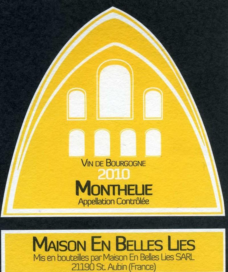 Monthelie - Vins de Bourgogne Blancs - Maison En Belles Lies - Voir en grand