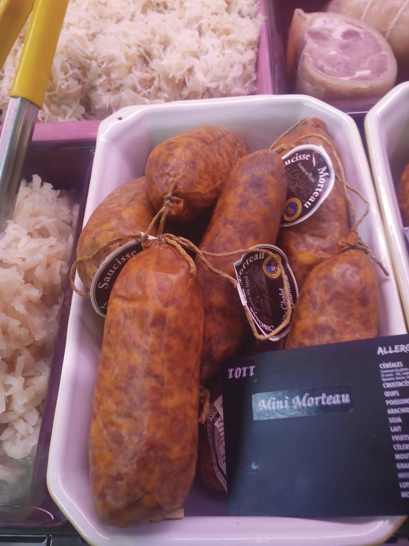 Mini Morteau- saucisses de Morteau en petit format - Produits de choucroute - LA PETITE LOUISETTE - Voir en grand