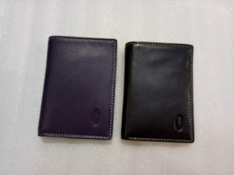 Porte cartes 57924Francinel en cuir de vachette - Voir en grand