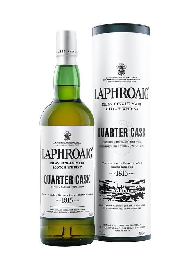 Laphroaig quater cask whiskies & spirits - Voir en grand