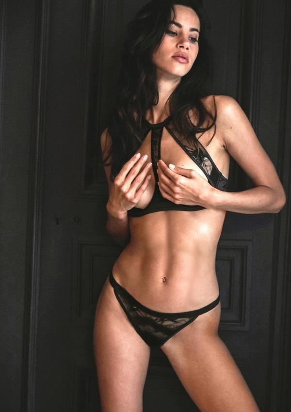 Atelier amour nuit a broadway soutien-gorge ouvert seins nus sexy dentelle lingerie - Voir en grand