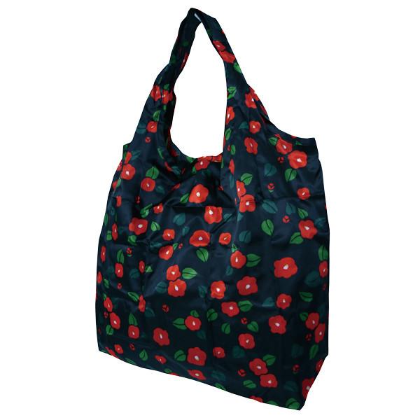 Eco-bag, sac de courses à motif japonais - camélia - Comptoir du Japon.jpg - Voir en grand