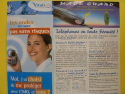 PROTECTIONS TELEPHONES PORTABLES  - BIEN ETRE  - MISS TERRE VERTE - Voir en grand