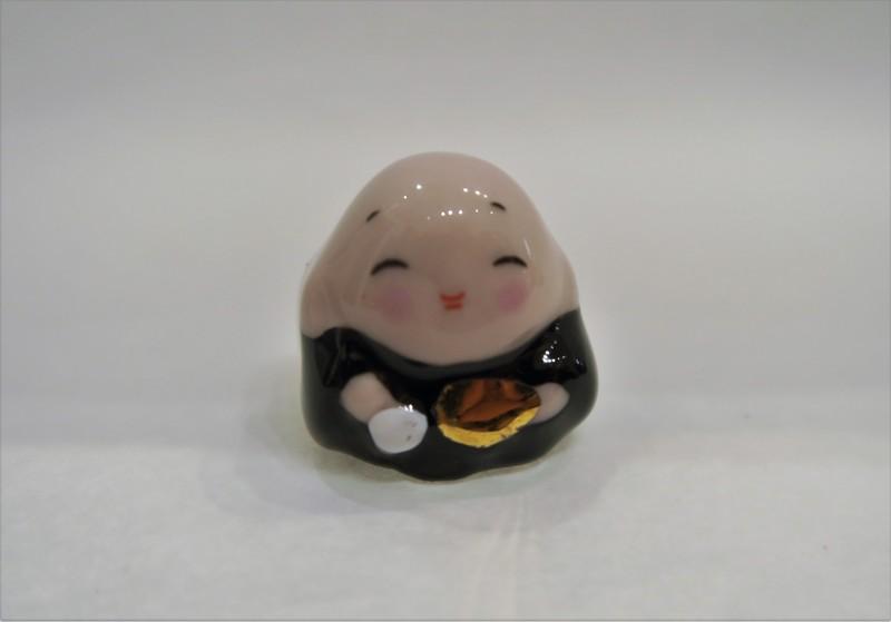 Mini 7 divinités du bonheur - Hotei - Comptoir du Japon - Voir en grand