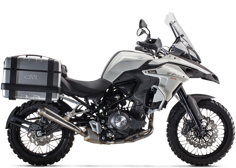BENELLI TRK 502 ANGEL'S MOTOS DIJON CHENOVE - Voir en grand