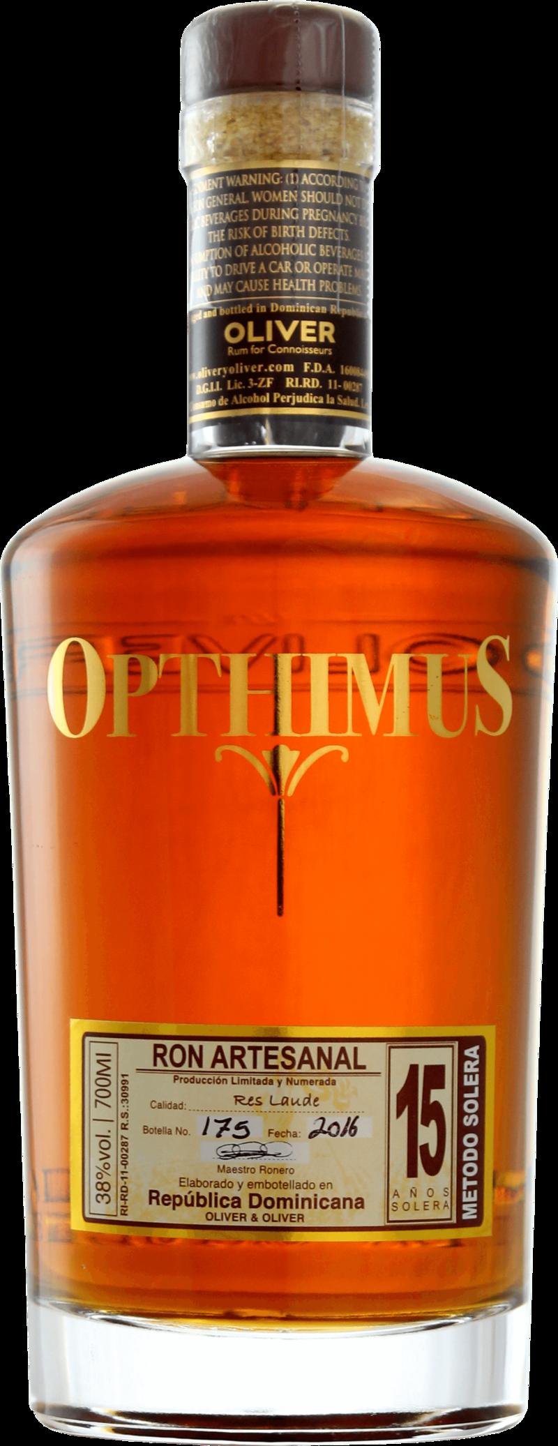 Ron Opthimus 15 Whiskies & Spirits - Voir en grand