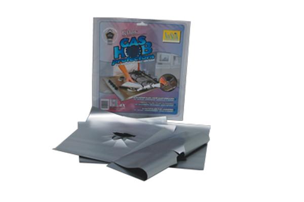 feuilles de protection NoStik® pour cuisinière à gaz, - Voir en grand