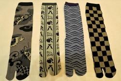 Chaussettes japonaises pour homme - Voir en grand