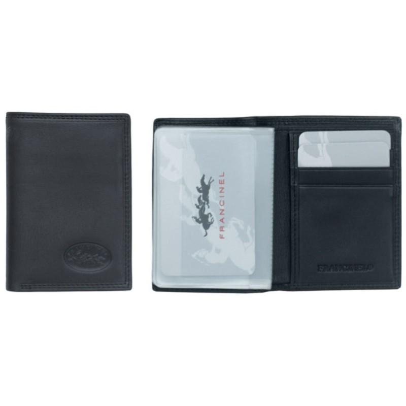 Porte cartes Francinel en cuir de vachette 37924 - Voir en grand