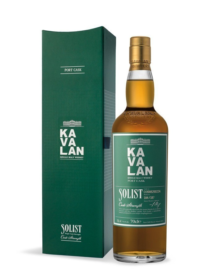 Kavalan solist port cask Whiskies & Spirits - Voir en grand