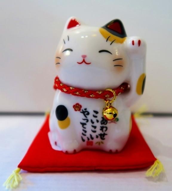 Chat manekineko mike - Compotoir du Japon - Voir en grand