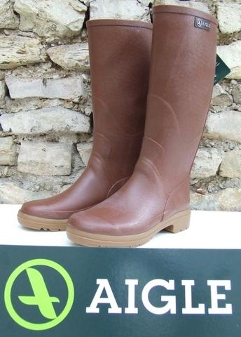 Botte Aigle caoutchouc, modèle CHAMBORD