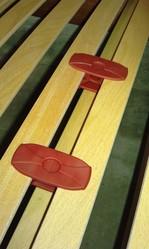 A partir de 120cm, curseurs de réglage de fermeté lombaire - Voir en grand