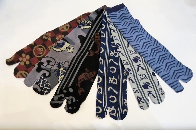 Chaussettes japonaises tabi - taille 38 à 43 - Comptoir du Japon - Voir en grand