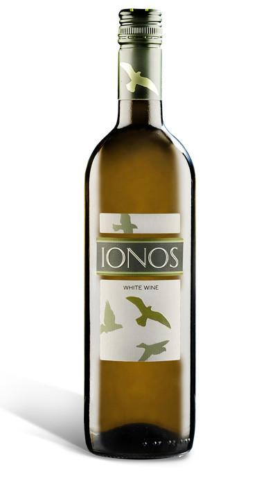 IONOS Vin BLanc sec 0,75 ml - Vins - La Grèce Gourmande - Voir en grand