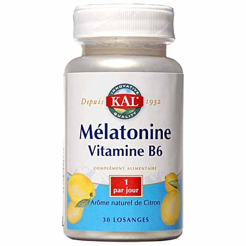 MELATONINE vitamine B6 KAL  - SOMMEIL - MISS TERRE VERTE - Voir en grand