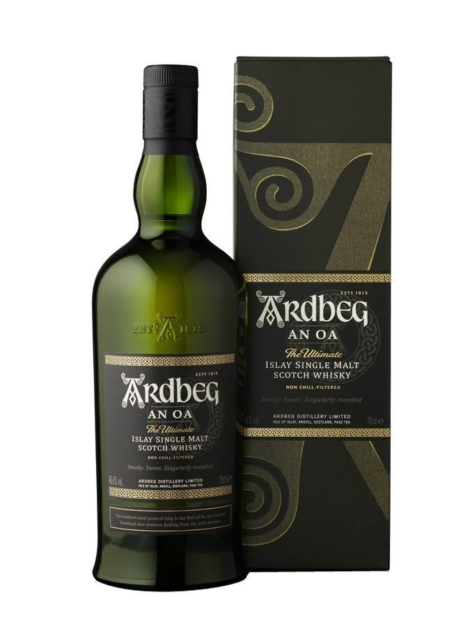 ARDBEG AN OA Whiskies & Spirits - Voir en grand