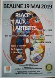 l'opération du Rotary Club dans les rues de Beaune avec l'UCB - Voir en grand