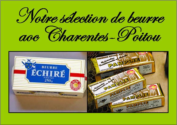 Beurre AOC Charentes Poitou - Poitou Charentes - FROMAGERIE AU GAS NORMAND - DIJON - Voir en grand