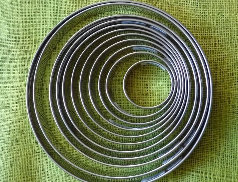 cercles à tartes - Voir en grand