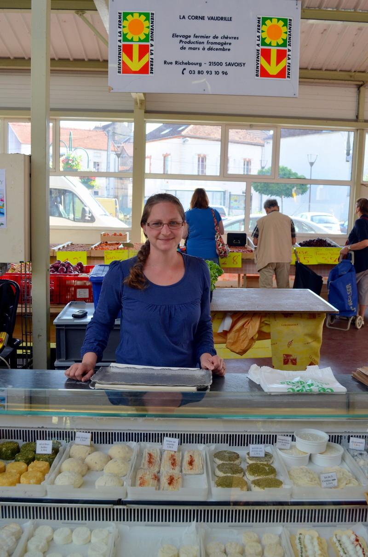 La Corne Vaudrille - Nos Fromagers - HALLES DE MONTBARD, votre marché alimentaire de proximité - Voir en grand