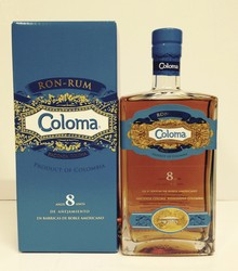 Rum Coloma 8 ans Whiskies & Spirits - Voir en grand