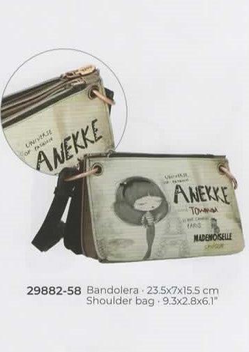 29882-58 SAC COUTURE ANEKKE MELLE - NOS SACS COLLECTOR - Maroquinerie Diot Sellier - Voir en grand