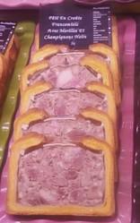 Pâté en croûte Franc-comtois pur porc aux morilles - Pâtisserie salée - LA PETITE LOUISETTE - Voir en grand
