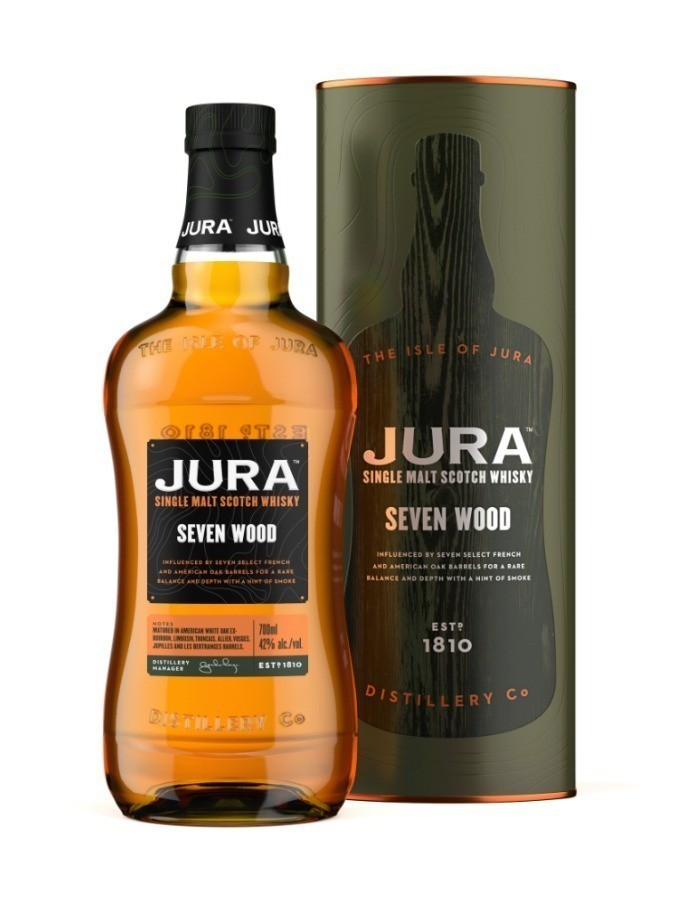 JURA SEVEN WOODS WHISKIES & SPIRITS - Voir en grand