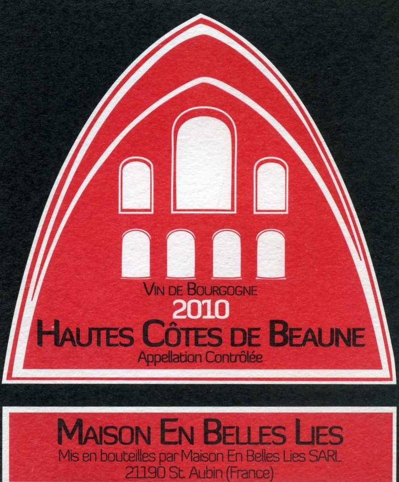 Hautes Côtes de Beaune - Vins de Bourgogne Rouges - Maison En Belles Lies - Voir en grand