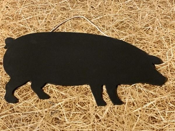 Tableau-noir-animal-cochon-Fruirouge-et-Cie - Voir en grand