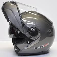 casque gris brillant LS2 ANGEL'S MOTOS DIJON - Voir en grand
