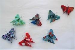 Broche en origami  - Voir en grand